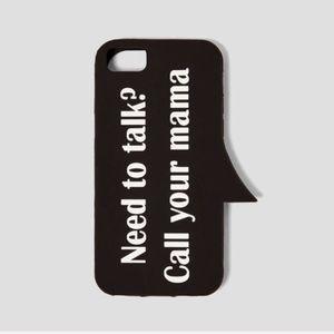 ZARA NWT Rubber Phone Case